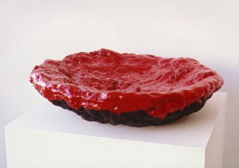 Die rote Schale '03, 54x13cm
