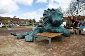 mama ik zie een leeuw gemeente Kampen