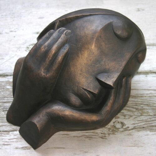 Slapende vrouw, h.19 x b33 x d26cm, 2_7